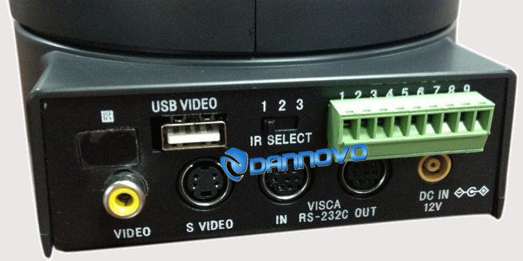 """650线usb视频会议摄像机型号 dn-c027b 成像设备 1/4"""" super had ccd"""